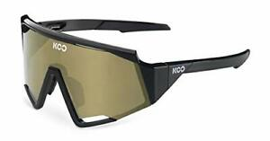 KOO Spectro Cycling Sunglasses Black Super Bronze Mirror Lens