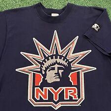 Wayne Gretzky New York Rangers T Shirt Boys Xl Nhl Hockey Vintage 90s Starter