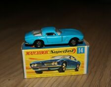 Iso Grifo N°14 Bleue - Miniature Matchbox Superfast