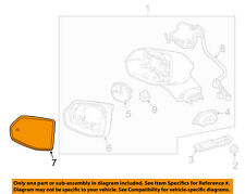 Cadillac Gm Oem 17-18 Xt5 Outside Mirrors-Front Door-Mirror Glass Left 23141269