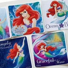 smilemakers Disney Princess Little Mermaid Ariel Large Square Stickers 10 sheets