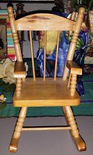 vintage minature chair perfect to display a doll stuffed toy or even plant