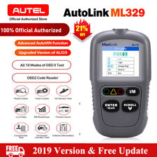 Automotive OBD2 Scanner EOBD Code Reader Car Engine Fault Diagnostic Tool ML329