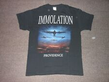 IMMOLATION PROVIDENCE TOUR 2012 RARE TOUR ONLY T-SHIRT SIZE L DEATH NO CD NO LP