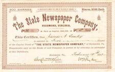 State Newspaper Company