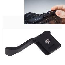 Black Thumb Up Grip for Fujifilm Fuji X10 X100 Panasonic GF2 Canon EOS M Camera