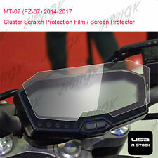 Cluster Scratch Protection Film Blu-ray Protector for YAMAHA FZ07 MT07