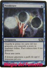 Ponderare - magic - ITA -  M12  MTG NUOVO