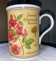Fine Bone China Crown Trent Limited Coffee Tea Mug 8 oz. Floral Made in England