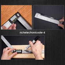 200mm Digitale Angolo Finder Goniometro Livella Misuratore Righello misura RI5