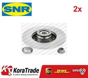 2x OE QUALITY BRAKE DISC SET REAR KF15948U SNR G