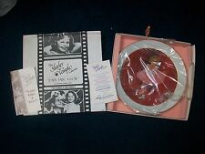 1982 Shirley Temple Plate Nostalgia Limited Edition