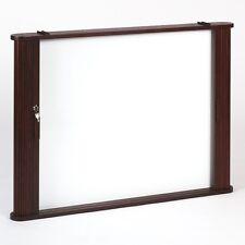 Best-Rite Tambour Door Enclosed Dry Erase Board Cabinet - 28060