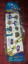 DELSOL COLOR CHANGING PONY TAIL HOLDERS AND BARRETTES