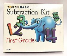 TouchMath Subtraction Kit First Grade New Guide TM741 Primary Masters Aids cards