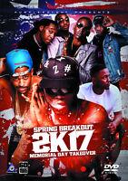 SPRING BREAKOUT 2017 MUSIC VIDEOS HIP HOP RAP DVD FUTURE BIG SEAN KENDRICK LAMAR