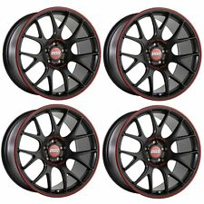 4 x BBS CH-R Nurburgring Satin Black Alloy Wheels - 5x112|18x8.5"