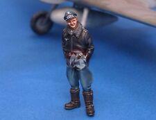 Legend 1/48 Erich Alfred Hartmann Luftwaffe Ace Pilot WWII [Resin Figure] LF4805