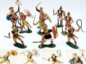 Vintage MARX Warriors of the World Romans with Cards Set TIBERIUS MAXIMUS GAIUS