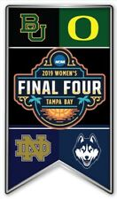 2019 WOMENS FINAL FOUR PIN NCAA BASKETBALL MARCH MADNESS PROGRAMS PATCH N STORE
