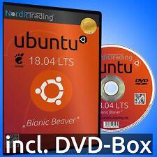 Ubuntu 18.04.5 LTS DVD Linux Betriebssystem Markenware
