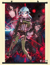 "8""*12""Hot Japan Anime Decor Sword Art Online Home Decor Wall poster Scroll 0309"
