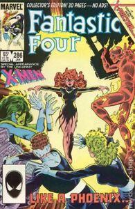 Fantastic Four #286 VG 1986 Stock Image Low Grade