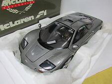 MEGA RARE! DARK SILVER 1/12  MINICHAMPS MCLAREN F1 GTR ROADCAR
