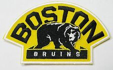 LOT OF (1) HOCKEY BOSTON BRUINS WITH THE BEAR PATCH PATCHES ITEM # 72