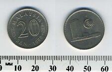Malaysia 1988 - 20 Sen Copper-Nickel Coin - Parliament house