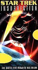 Star Trek: Insurrection (VHS, 1999)