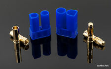 EC5 5MM Bullet Connectors Plugs Male / Female Pair w/ Spring Style Male Bullets