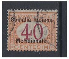 Somalia - 1906/8, 40c Postage Due stamp - G/U - SG D21