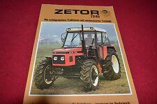 Zetor 7245 Tractor 30 years in Germany Dealer's Brochure LCOH