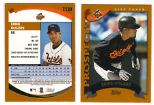 ED ROGERS 10 CARD LOT 2002 TOPPS TRDED # T139 ORIOLES