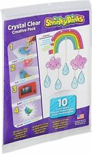 Shrinky Dinks Crystal Clear 10 Sheets Creative Pack For Artists and Crafters