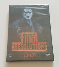 TNA Impact Wrestling Final Resolution 2006 DVD