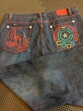 COOGI Authentic Australian Embroidered Denim Jeans Size W44 L34