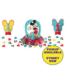 Mickey Mouse Fun to Be One 1st Birthday Table Decorating Kit as SHOWN