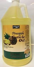 PRO NAIL PINEAPPLE CUTICLE OIL BOTANICAL CREATION 128oZ 1 GALLON Made in the USA