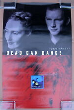 DEAD CAN DANCE Spiritchaser 1996 US PROMO POSTER 4AD Lisa GERRARD Brendan PERRY