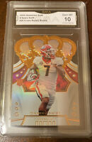 D'Andre Swift 2020 Panini Chronicles Crown Royale RC GMA 10 Lions