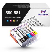 5 DRUCKER PATRONEN für CANON PGI-580 CLI-581 XL PIXMA TS705 TS6100 TS8251 TR8550