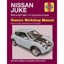 Nissan Juke 1.2 1.6 Petrol 1.5 Turbo Diesel 2010-17 Haynes Workshop Manual