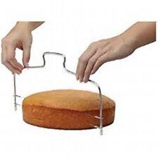 UK Adjustable Wire Cake Slicer Cutter Leveler Decorating Bread Wire Decor Tool