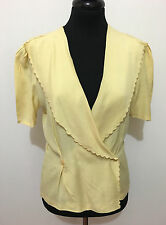 MARELLA Camicia Donna Viscosa Blusa Rayon Woman Shirt Sz.S - 40