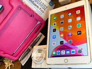 Apple iPad Mini 4 (128gb) Wi-Fi (A1538) Gold 7.9in/ MiNT Kids Foam {iOS13}91%