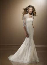 SUR MESURE ! Elégante robe de Mariée Boléro offert M319