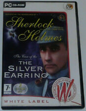 PC CD Rom Game - Sherlock Holmes - The Case Of The Silver Earring