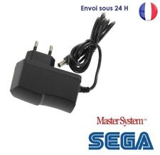 Transfo Alimentation SEGA Megadrive 1 - Master System 1 et 2 Cable secteur  NEUF